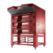 Bull Deck Oven - red